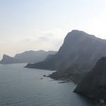 Мыс Капчик, гора Орел и гора Сокол