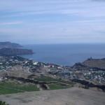 Гора Алчак и гора Меганом вид с горы Перчем