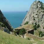 Гора Болван, вид из крепости