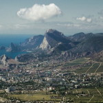 Панорама гор и окрестностей Судака